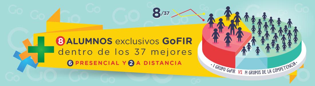 GoFIR el primer año arrasó. En Septiembre iniciamos Matricula de la 3ª Edicion Cursos GoFIR