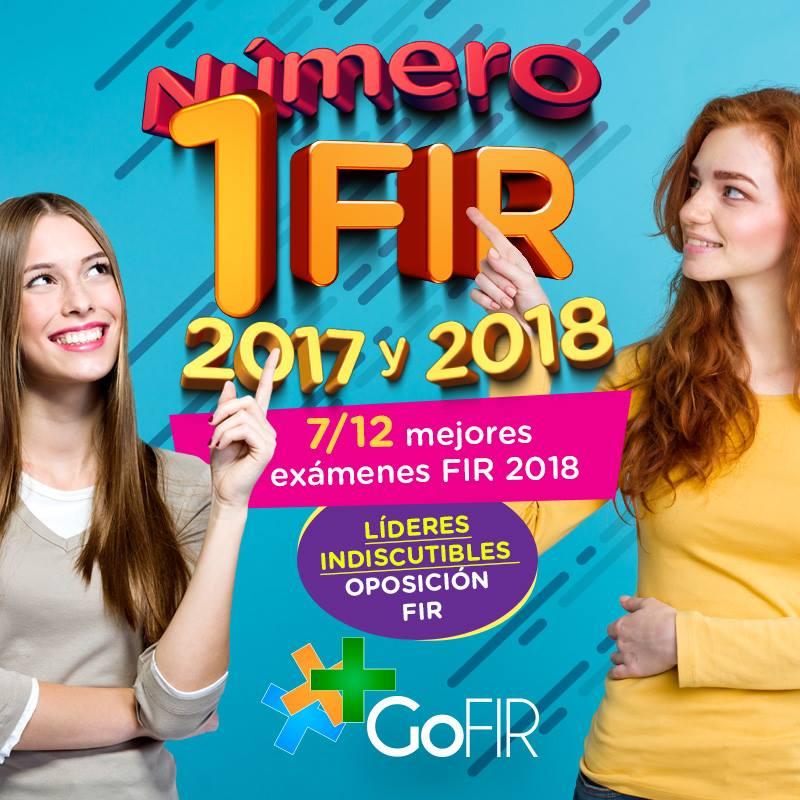 GoFIR: número 1 FIR 2017 y 2018. Resultados contundentes