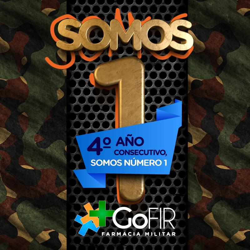 Oposición Farmacia Militar 2018: GoFIR Número 1 por cuarto año consecutivo