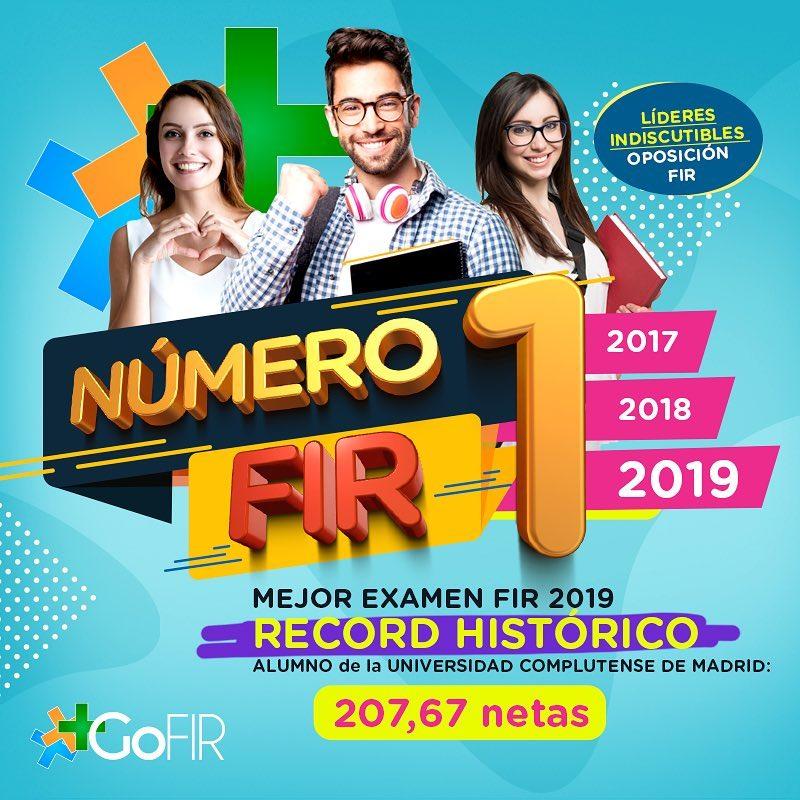 Nº1 FIR 2017,2018 Y 2019